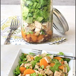 Chinese Chicken Salad in a Jar