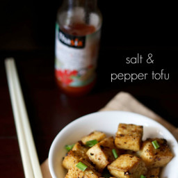 chinese salt and pepper tofu recipe