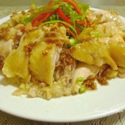 Chinese Steamed Chicken