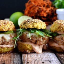 Chipotle and Andouille Sausage Sliders