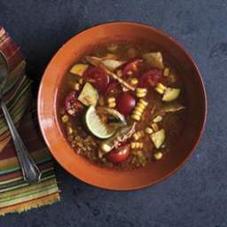 Chipotle Chicken and Vegetable Soup