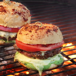 Chipotle Pork Cheeseburgers
