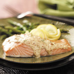Chipotle-Sparked Mustard Salmon Recipe