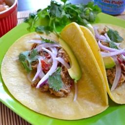 chipotle orange pork tacos