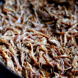 Chipotle Sweet Pulled Pork (Slow Cooker)