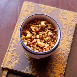 chiwda recipe - makes 1 medium jar