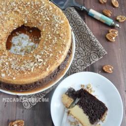 Chocoflan, pastel imposible o pastel diplomático