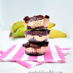 Chocolate Almond Banana Bites