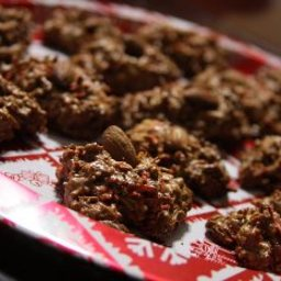 Chocolate Brownie Macaroons