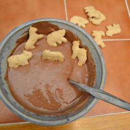 Chocolate Cake Batter Dip