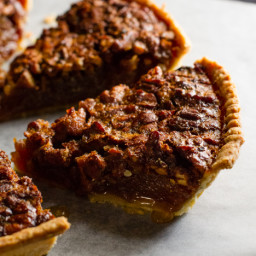 Chocolate Chip and Pecan Pie