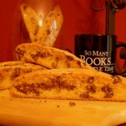Chocolate Chip Biscotti