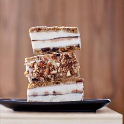 Chocolate Chip Cookie Ice Cream Bars
