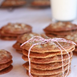 Chocolate Chip Kahlua Cookies