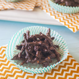Chocolate Chow Mein Noodle Cookies