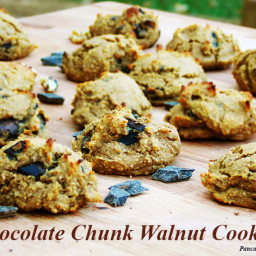 Chocolate Chunk Walnut Cookies
