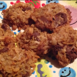 Chocolate Coconut Scout  Cookies