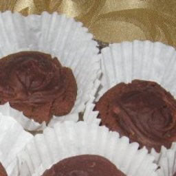 Chocolate Covered Cherry Cookies From Angelett