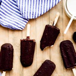 Chocolate-Covered Ice Cream Bars   Vegan, Paleo, Gluten-Free