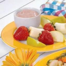 Chocolate Cream Fruit Dip Recipe