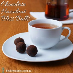 Chocolate Hazelnut Bliss Balls