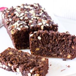 Chocolate Oatmeal Banana Bread Recipe