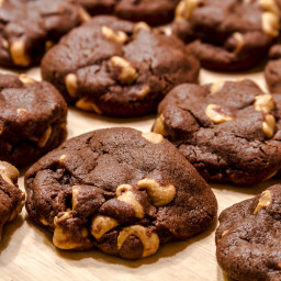Chocolate Peanut Butter Awesome Cookies