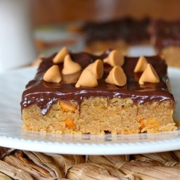 Chocolate Peanut Butterscotch Bars