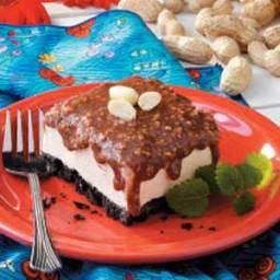 Chocolate Peanut Freeze Recipe