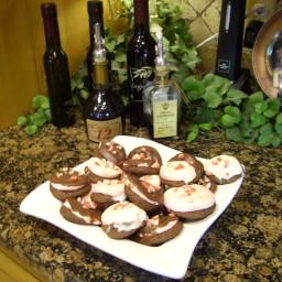 Chocolate Pecan Marshmellow cookie