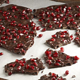 Chocolate-Pomegranate-Ginger Bark