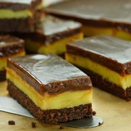Chocolate Ripple Caramel Slice