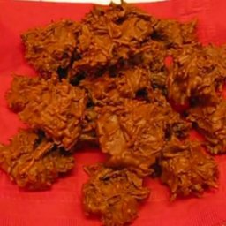 Chocolate Walnut Chow Mein Bites