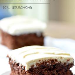 Chocolate Zucchini Cake with Cream Cheese Frosting
