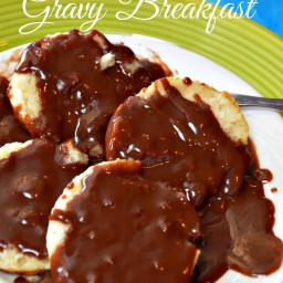 Chocolate Gravy and Biscuit Breakfast-Video