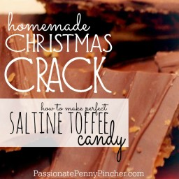 """Christmas Crack"" {AKA Saltine Toffee Candy}"