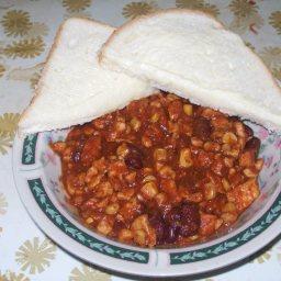 chunky chicken chilli