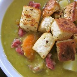 chunky split pea soup