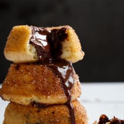 Churro Lava Cakes