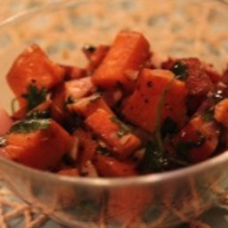 Cilantro and Sweet Potato Salad