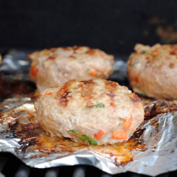 Cilantro Chili Turkey Burgers