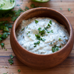 cilantro-lime mayonnaise