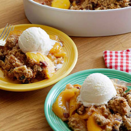 Cin-ful Peach Cobbler