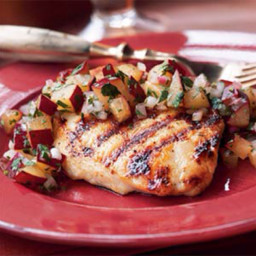Cindy's Glazed Chicken Breast w/ Plum Chutney