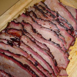 Cindy's Oven Smoked Brisket