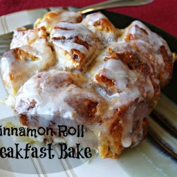 Cinnamon Roll Breakfast Bake recipe
