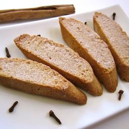 cinnamon spice biscotti