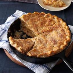 Cinnamon-Sugar Apple Pie Recipe