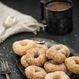 Cinnamon Sugar Donuts (Gluten Free)