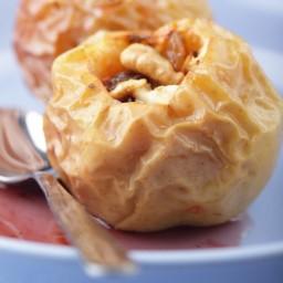 Cinnamon Walnut Baked Apples